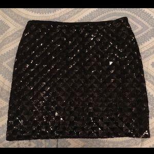 Banana Republic Sequin Skirt